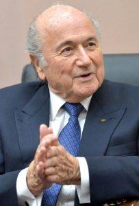 Blatter zu Besuch bei Putin