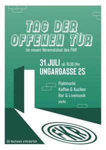 TAG DER OFFENEN TÜR @ Vereinslokal