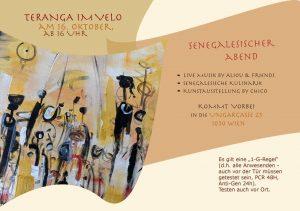 Flyer Senegalesischer Abend